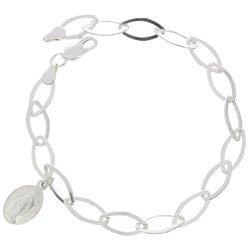 Bransoletka Zawierzenia Maryi - srebrny łańcuszek Niewolnictwa Maryi pr. 925 BNM07