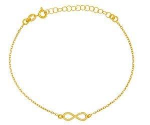 Bransoletka celebrytka - nieskończoność srebro pr 925 CEL39