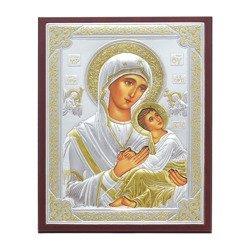 Ikona srebrna Matka Boska Nieustającej Pomocy 31187WOROA