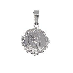 M60 Medalik srebrny - Matka Boska Bolesna