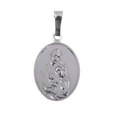 M94 Medalik srebrny - Święta Rodzina