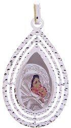 Medalik srebrny (4,3 g) - Matka Boża Wędrowna (Cygańska) MK005