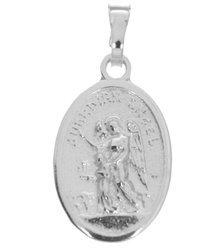 Medalik srebrny - Anioł Stróż MM016