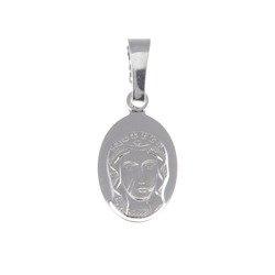 Medalik srebrny - Matka Boża Częstochowska Czarna Madonna M33