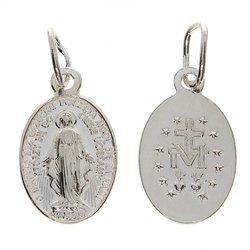 Medalik srebrny - Matka Boża Niepokalana Cudowny medalik ML001