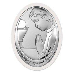 Obrazek Srebrny Pamiątka I Komunii 6464OW