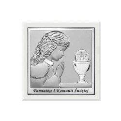 Obrazek Srebrny Pamiątka I Komunii 6568WA