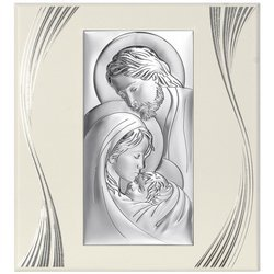 Obrazek Srebrny Święta Rodzina 6380FP