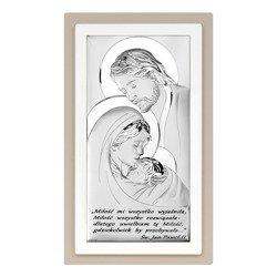 Obrazek Srebrny Święta Rodzina 6380STP