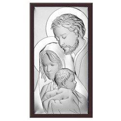 Obrazek Srebrny Święta Rodzina 6474WM