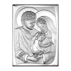 Obrazek Srebrny Święta Rodzina 6545