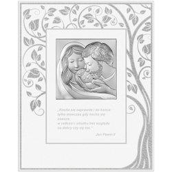 Obrazek Srebrny Święta Rodzina 6725FP