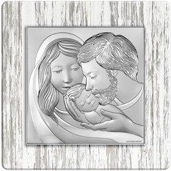 Obrazek Srebrny Święta Rodzina 6725S