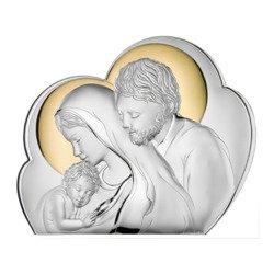 Obrazek Srebrny Święta Rodzina 81245