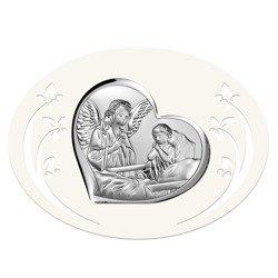 Obrazek srebrny Anioł Stróż 6512P