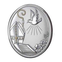 Obrazek srebrny Bierzmowanie 704