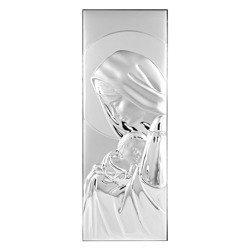 Obrazek srebrny Matka Boska z dzieciątkiem 30752