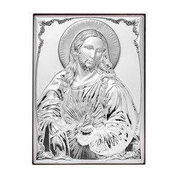 Obrazek srebrny Serce Jezusa 309812A