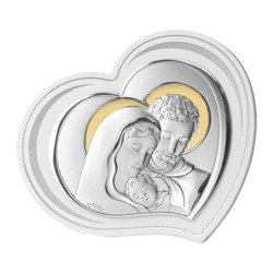 Obrazek srebrny Święta Rodzina 81296ORO