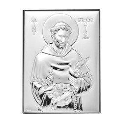 Obrazek srebrny Święty Franciszek 307807
