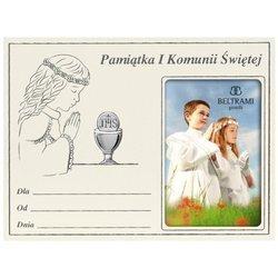 Panel Srebrny Pamiątka I Komunii 1163NA