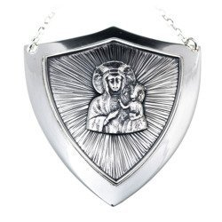 Ryngraf srebrny 925 Matka Boska Częstochowska R20