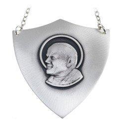 Ryngraf srebrny 925 Św. Jan Paweł II R04