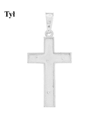 Krzyżyk srebrny MO144