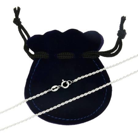 Łańcuszek srebrny pr. 925 kord 1,7 mm 0,35 mm CMM035ND