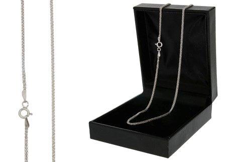 Łańcuszek srebrny pr. 925 lisi ogon (spiga)  SPIGA0304L