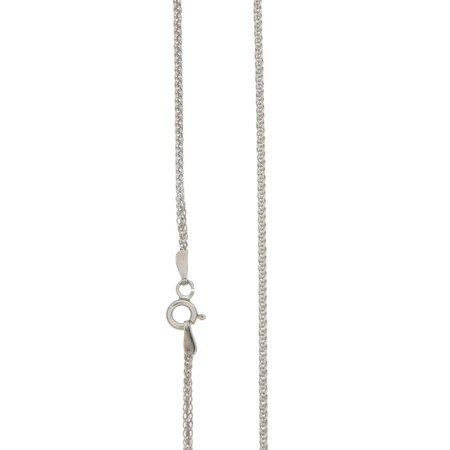 Łańcuszek srebrny pr. 925 lisi ogon (spiga)  SPIGA040DIA4L