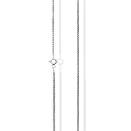 Łańcuszek srebrny pr. 925 żmijka 1,6 mm CDT160