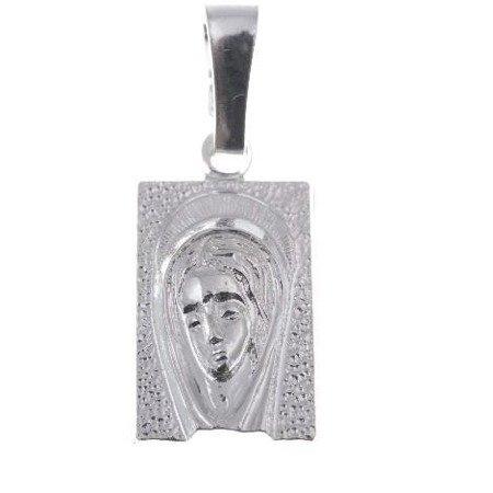 M104 Medalik srebrny - Matka Boska