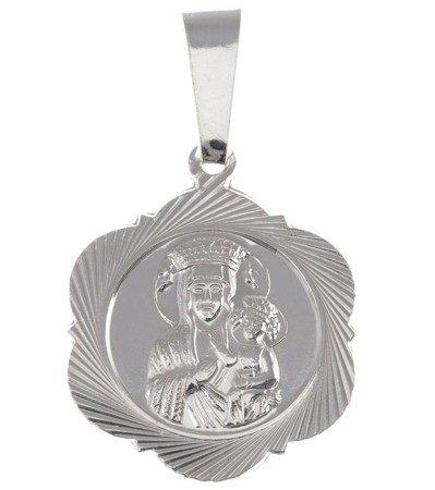 M42 Medalik srebrny - Matka Boska Częstochowska