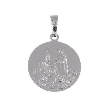M84 Medalik srebrny - Matka Boska Fatimska