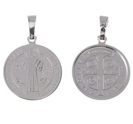 M88 Medalik srebrny - Medalik Świętego Benedykta