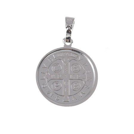 M90 Medalik srebrny - Medalik Świętego Benedykta