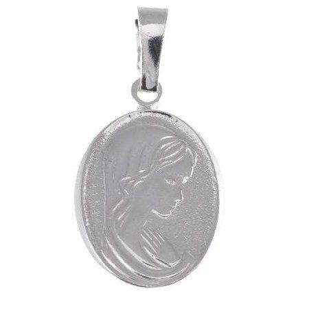Medalik Bozia srebrny - Matka Boska MM062