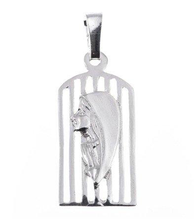 Medalik srebrny - Matka Boska  MO010