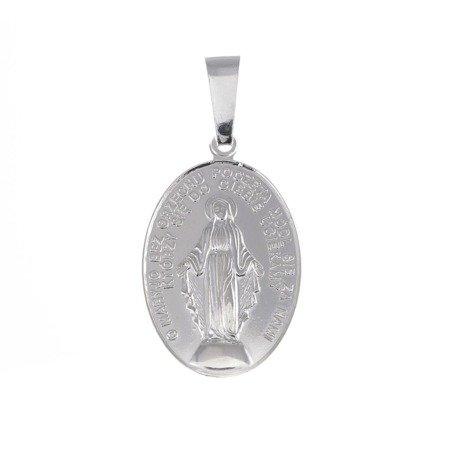 Medalik srebrny - Matki Bożej Niepokalanej Cudowny Medalik M010