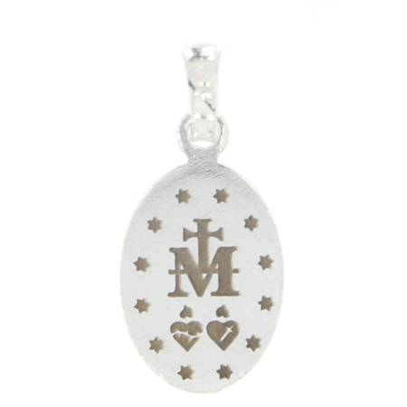 Medalik srebrny - Matki Bożej Niepokalanej Cudowny Medalik M014