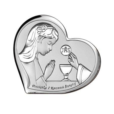 Obrazek Srebrny Pamiątka I Komunii 6517A