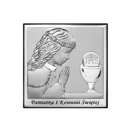 Obrazek Srebrny Pamiątka I Komunii 6568A