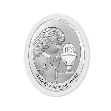 Obrazek Srebrny Pamiątka I Komunii 6571WA