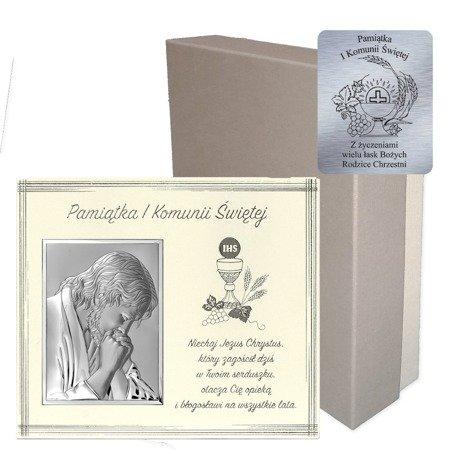 Obrazek Srebrny Pamiątka I Komunii 6611F
