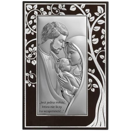 Obrazek Srebrny Święta Rodzina 6653MA