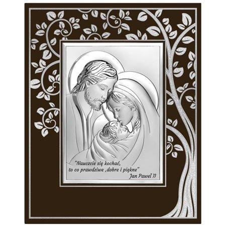 Obrazek Srebrny Święta Rodzina 6665SFM