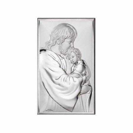 Obrazek srebrny Jezus Chrystus z dzieckiem 81286