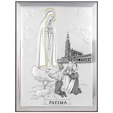 Obrazek srebrny Matka Boska Fatimska 31106OROA
