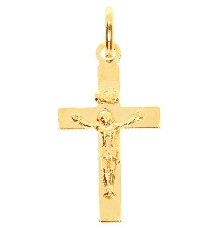 Złoty krzyżyk pr. 585  ZK059